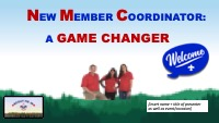 New Member Coordinator Presentation for Council & District