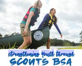 Strengthening Youth Through  Scouts BSA